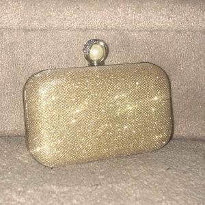 2 for 45$ 🤑 Gold shimmer Clutch bag